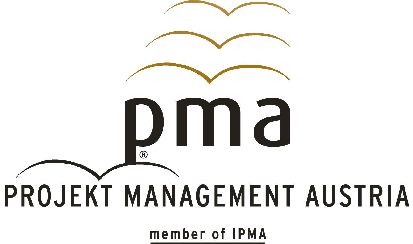 Logo Projekt Management Austria, pma