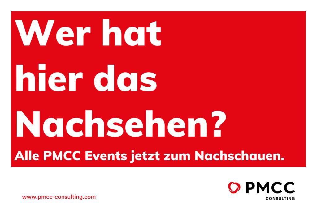 PMCC Blog Events nachsehen